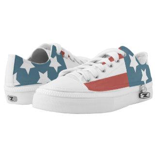 Patriotische Schuhe