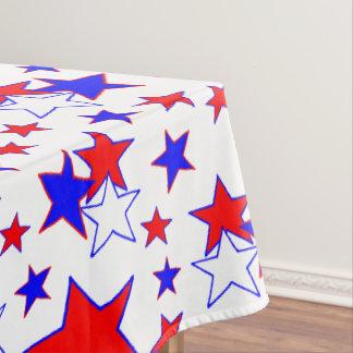 Patriotische Sterne Tischdecke