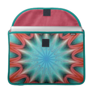 Patriotische Sternexplosion Macbook Prohülse Sleeve Für MacBooks