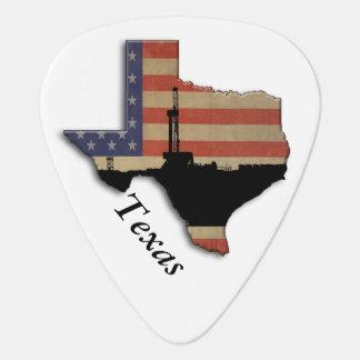 Patriotische Texas-Erdölbohrungs-Anlage Plektrum