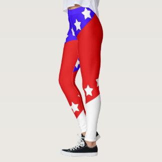 Patriotischer amerikanischer Unabhängigkeitstag Leggings