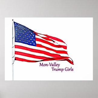 Patriotischer Dekor Poster
