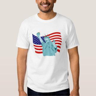 Patriotischer Flaggen-Entwurf T-shirt