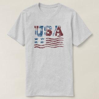 Patriotischer Flaggen-T - Shirt USA