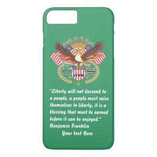Patriotischer Frieden Forest Green Kentucky iPhone 8 Plus/7 Plus Hülle