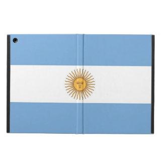 Patriotischer ipad Fall mit Flagge von Argentinien