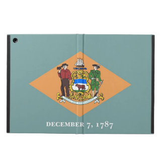 Patriotischer ipad Fall mit Flagge von Delaware