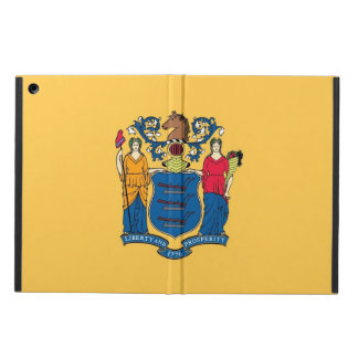 Patriotischer ipad Fall mit Flagge von New-Jersey