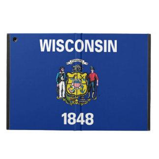 Patriotischer ipad Fall mit Flagge von Wisconsin