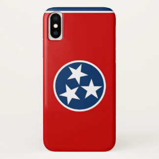 Patriotischer Iphone X Fall mit Tennessee-Flagge iPhone X Hülle