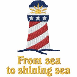 Patriotischer Leuchtturm USA