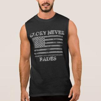 Patriotischer Ruhm verblaßt nie Ärmelloses Shirt
