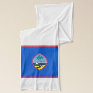 Patriotischer Schal mit Flagge von Guam