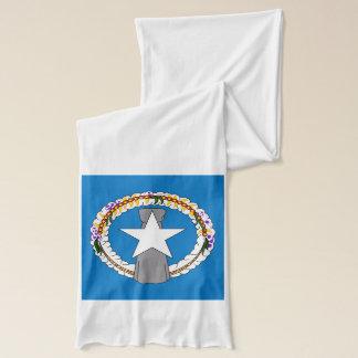 Patriotischer Schal mit Flagge von NordMariana