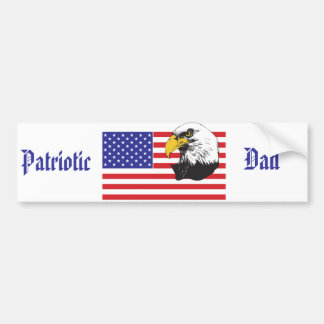 Patriotischer Vati-/Vatertag Autoaufkleber
