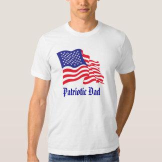 Patriotischer Vati-/Vatertag Tshirts