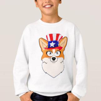 Patriotischer WaliserCorgi Sweatshirt