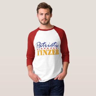 Patriotischer Yinzer Entwurf T-Shirt