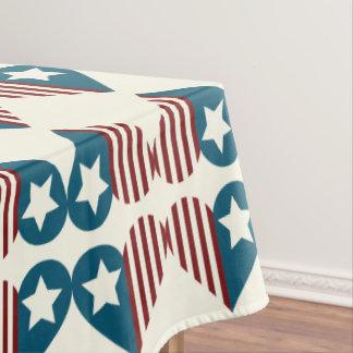 Patriotisches 4. der Tischdecke | von