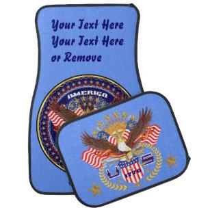 Patriotisches bestes Feiertags-Wahl-Geschenk Automatte