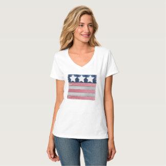Patriotisches Flaggen-Entwurfs-T-Shirt T-Shirt