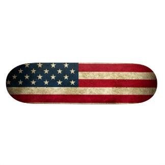 Patriotisches Skateboard, welches die Individuelles Skateboard