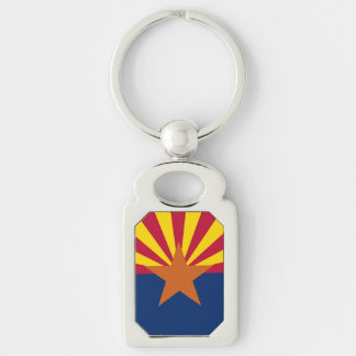 Patriotisches, spezielles keychain mit Flagge von Schlüsselanhänger