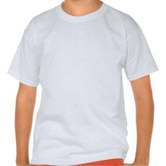Patriotisches USA-Flagge-Schild T Shirt
