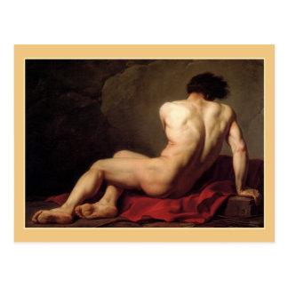 Patroclus durch Jacques Louis David Postkarte