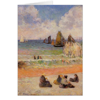 Paul badender Gauguin-, Dieppe Karte
