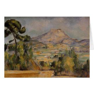 Paul Cezanne- Mont Sainte-Victoire Karte