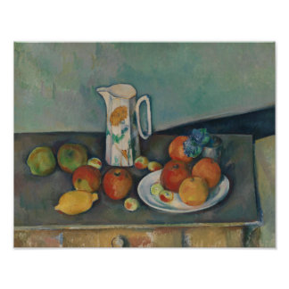 Paul Cezanne - Stillleben Poster