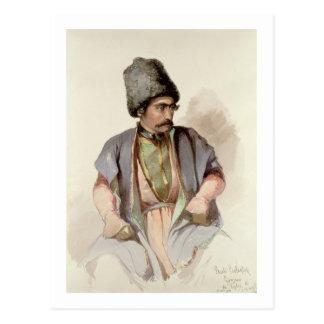 Paul - ein georgisches von Tiflis, 1852 Postkarte