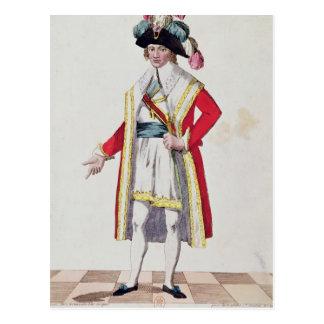 Paul Francois Jean Nicolas Vicomte de Barras Postkarte