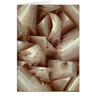 Paul Klee: Kristall Karte