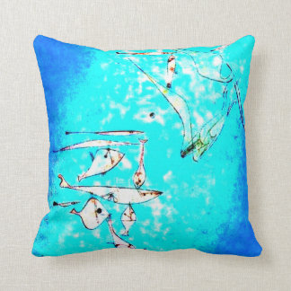 Paul Klee-Kunst: Fisch-Bild, paintiing durch Klee Kissen