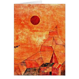 Paul Klee-Kunst - Marchen Karte