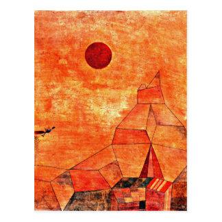 Paul Klee-Kunst - Marchen Postkarte