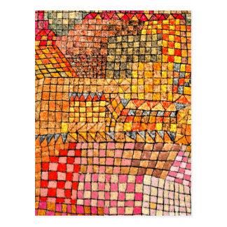 Paul Klee - Stadtschloss-Kr Postkarte