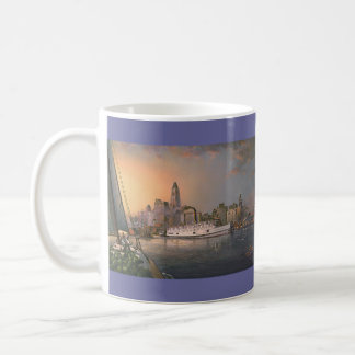"Paul McGehee ""altes Baltimore an der Twilight"" Kaffeetasse"