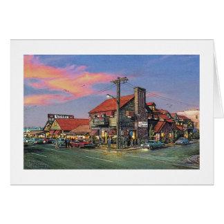 """Paul McGehee """"die Krabbe Haus-Ozean Stadt, MD-"""" Karte"""