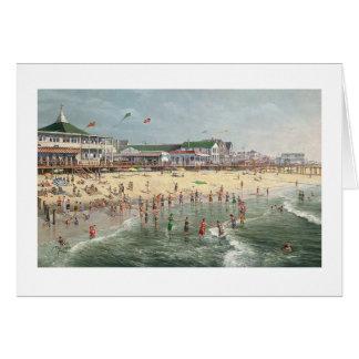 """Paul McGehee """"ein Rehoboth Strand-Gedächtnis-"""" Mitteilungskarte"""