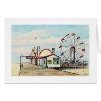 "Paul McGehee ""Luna Park - Ozean Stadt, MD-"" Karte"