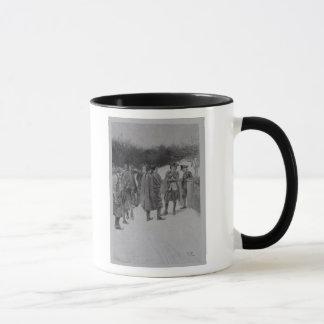 Paul Revere, der Sullivan Nachrichten holt Tasse
