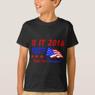 Paul Ryan für Präsidentenentwürfe T-Shirt