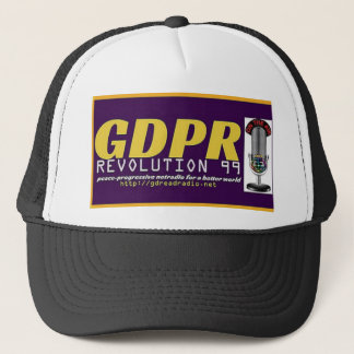 Paxspiration GDPR Fernlastfahrer-Hut Retrokappe
