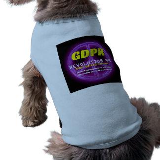 Paxspiration GDPR Hündchen-T-Stück Ärmelfreies Hunde-Shirt
