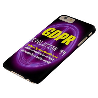 Paxspiration GDPR Smartphone/Tablette-Kasten Barely There iPhone 6 Plus Hülle