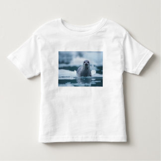pazifisches Hafen-Siegel, Phoca vitulina richardsi Kleinkinder T-shirt