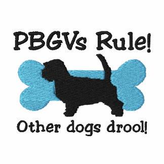 PBGVs Regel gestickter T - Shirt
